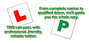Automatic and Manual Driving Lessons